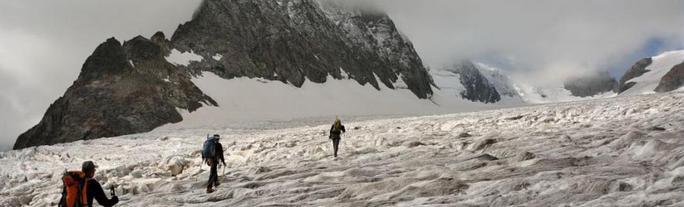 Ecrins glacier blanc
