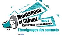 Conférence Internationale Montagne et Climat Le 11 novembre 2015 à Grenoble.